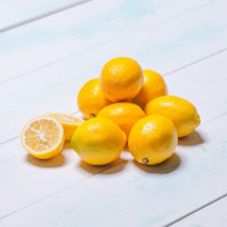 A Pile of Meyer Lemons from Granville Island