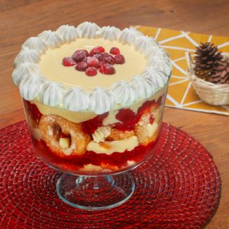 Cranberry Doughnut Trifle from Granville Island Public Market