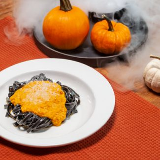 Halloween Linguine from the Granville Island Public Market