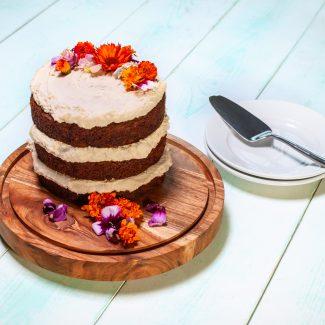 Vegan Carrot Cake from Granville Island Public Market