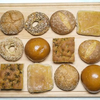Bread - Buns and loaves of all shapes; replete with sensational toppings!